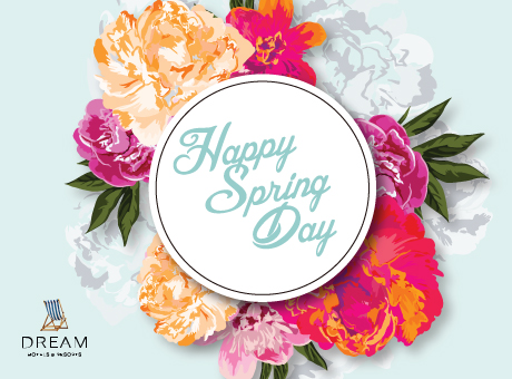 Happy spring day dream hotels resorts happy spring day mightylinksfo
