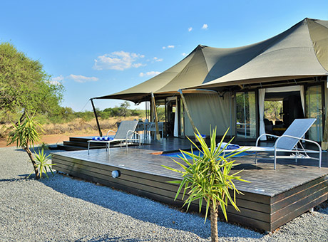 Finfoot - Tented Camp
